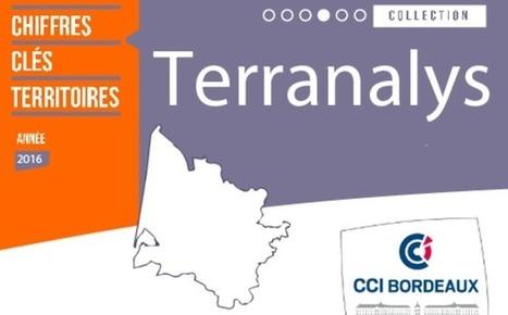 Terranalys 2016 : les chiffres clés des territoires de la Gironde   Emploi formation   Scoop.it