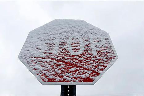 Detroit snow breaks records, topples power lines, creates flooding risk   txwikinger-news   Scoop.it