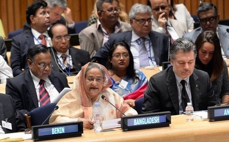 Bangladesh leader Hasina tells world to invest in education, not weapons | Find Anything OF Your Interest | Scoop.it