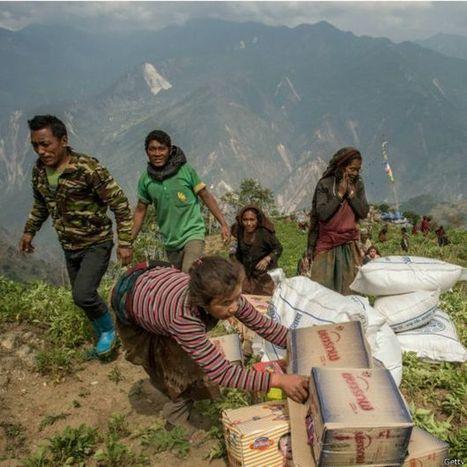La pérdida de altura de los Himalayas tras el terremoto de Nepal - BBC Mundo | Nuevas Geografías | Scoop.it