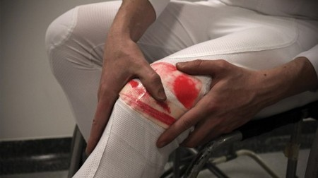 """""""Bruise trousers"""" are designed to let disabled athletes know when they're hurt 