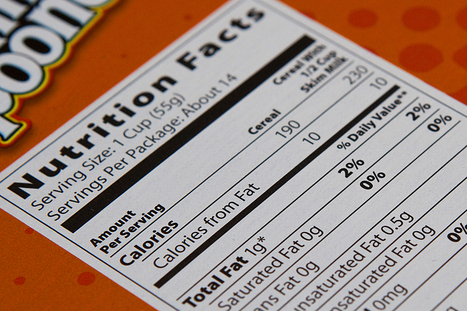 Changes may be coming to nutrition facts labels | The Rundown | PBS NewsHour | PBS | diabetes and more | Scoop.it