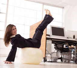 7 Ways to Work Out at the Office - Prevention.com | Desk Warrior Fitness | Scoop.it