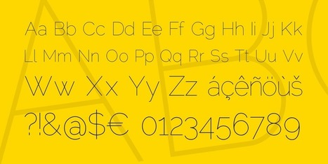 Raleway Font Family · 1001 Fonts | as | Scoop.it