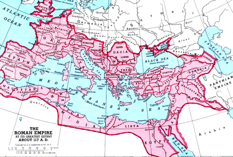 Map of the Roman Empire   Plutarch's The Lives of the Noble Grecians and Romans   Scoop.it