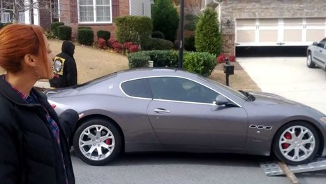 Laptop Riches Lifestyle - Tracey Walker Getting Her Maserati Granturismo - YouTube | Internet Marketing | Scoop.it