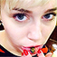 Miley Cyrus Shows Off New Lip Tattoo - People Magazine | Tattoos & Body Art | Scoop.it