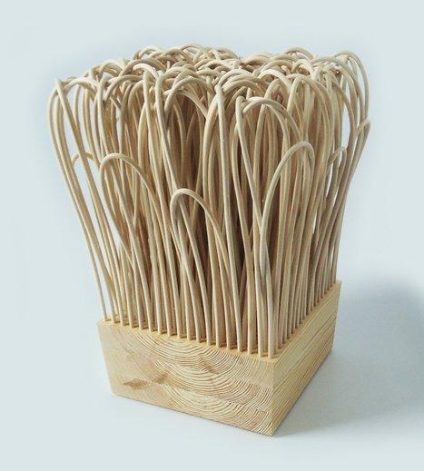Rattatan Stool by Wiktoria Szawiel   #Design   Scoop.it