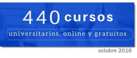 440 cursos universitarios, online y gratuitos que comienzan en octubre | Elearning | Scoop.it