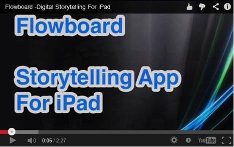 iPaddiction: Flowboard - Storytelling On The iPad | iPads in the Elementary Library | Scoop.it