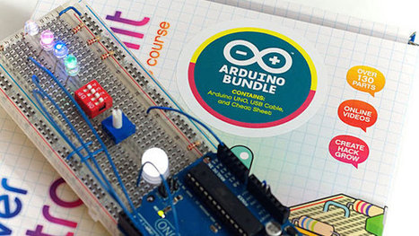The Discovering Arduino DIY Kit Gets You Started with Electronics | CVG Arduino | Scoop.it