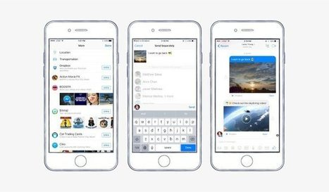 Dropbox est désormais intégré à Facebook Messenger | Applications Iphone, Ipad, Android et avec un zeste de news | Scoop.it