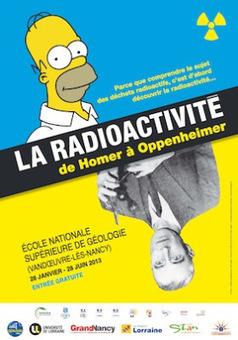 Exposition « La radioactivité d'Homer à Oppenheimer » | Veille Energie | Scoop.it