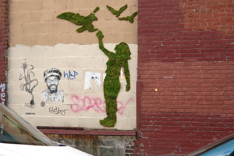 Mosstika: Street Art Greens the Urban Jungle | Urban Life | Scoop.it