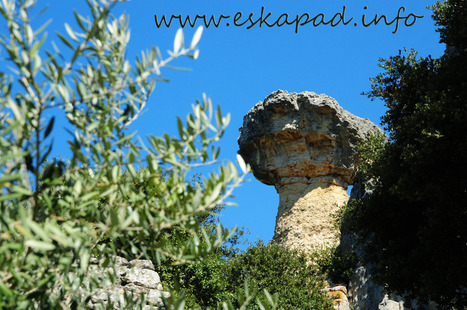 Randonnée vers l'ermitage de Saint Gens | Topo et fiche de randonnée à pied by eskapad | Scoop.it