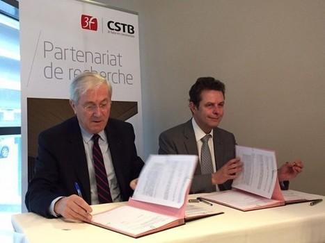 Le CSTB et 3F signent un partenariat de recherche   Costruzioni   Scoop.it