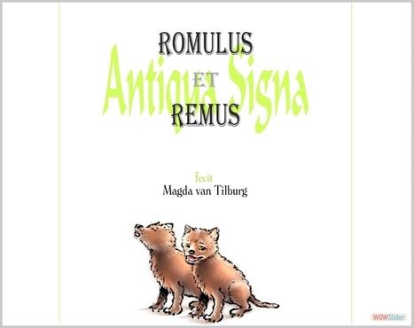 Romulus & Remus   Booxalive.nl - verhalen voorleessite voor alle leeftijden   Scoop.it
