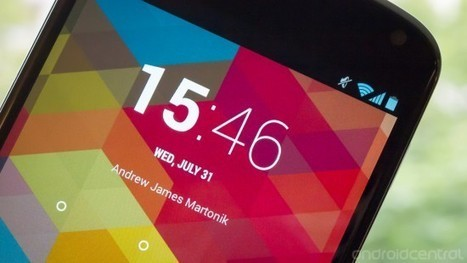 Android 4.3's subtle and delightful feature: A smart status bar clock | Do The Robot | Scoop.it