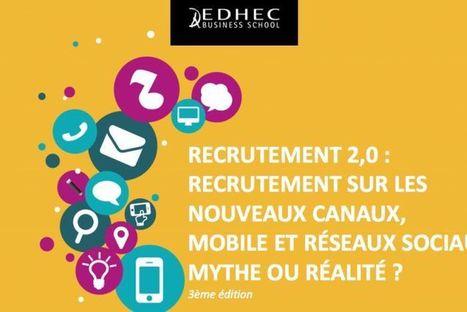 Recherche d'emploi ou de stage : Nouveaux canaux, mobile et réseaux sociaux, mythe ou réalité ? | Ingénieur, la Formation | Scoop.it