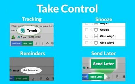 Pourquoi chez Wizy.io, les outils d' Email productivity sont devenus gratuits | Google Apps  (FR) | Scoop.it
