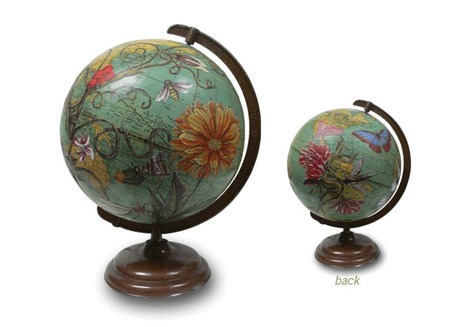 ImagineNations - Decoupaged Globes by Wendy Gold | Art, Mixed Media, Watercolor | Scoop.it