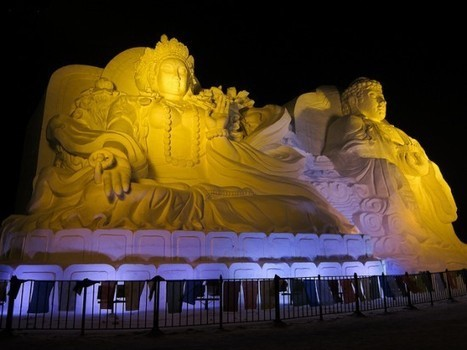 China's Magical City of Ice   Strange days indeed...   Scoop.it