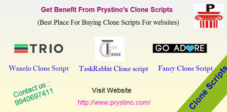 Get Benefit From Prystino's Clone Scripts | Clone Script | Scoop.it