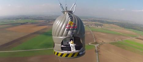 Publicité Lego : Le saut de Felix Baumgartner | Subliminale | Scoop.it