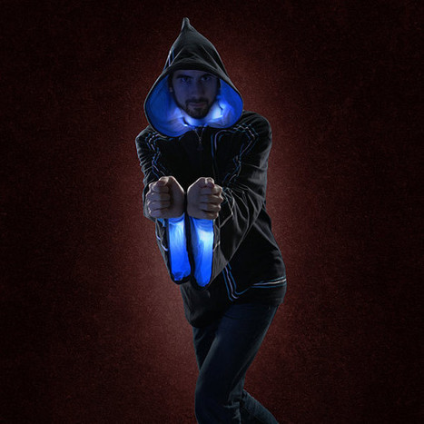 Cast All The Spells With This Light Up Digital Wizard Hoodie | Stuff that Tweaks | Scoop.it