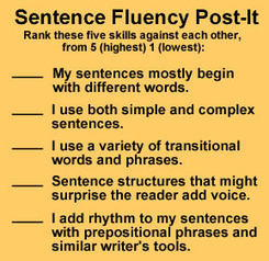 WritingFix: Sentence Fluency Resources and Lessons | 6-Traits Resources | Scoop.it