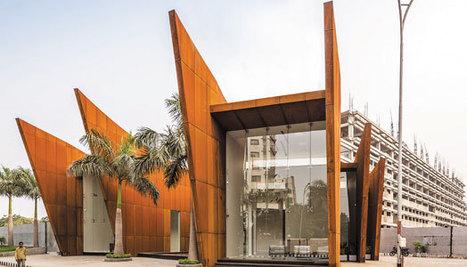 India Art n Design inditerrain: Crescent Office – working with a steel envelope! | India Art n Design - Architecture | Scoop.it