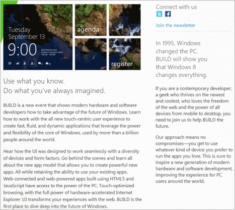 Windows 8 To Be Unveiled In September | Technology and Gadgets | Scoop.it
