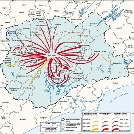 Sudeste e Sul concentram cidades integradas no país, diz IBGE | Inovação Educacional | Scoop.it