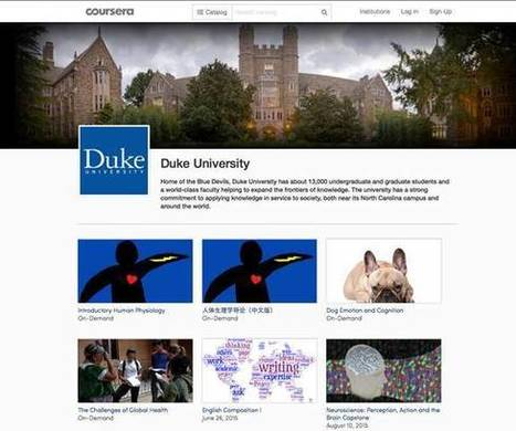 On-Campus Impacts of MOOCs at Duke University (EDUCAUSE Review) | EDUCAUSE.edu | Libraries and education futures | Scoop.it