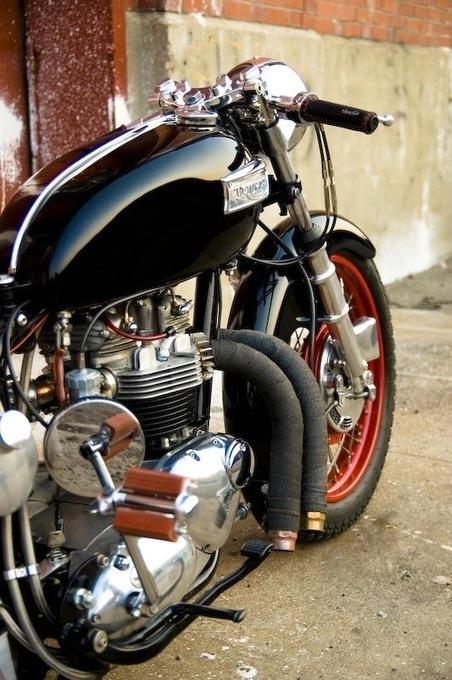 Custom Triumph 750 Bobber - Grease n Gasoline | MY B*S* IS BOSS | Scoop.it