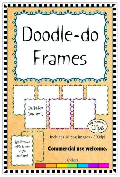 Doodle-do Frames | Education Matters - (tech and non-tech) | Scoop.it