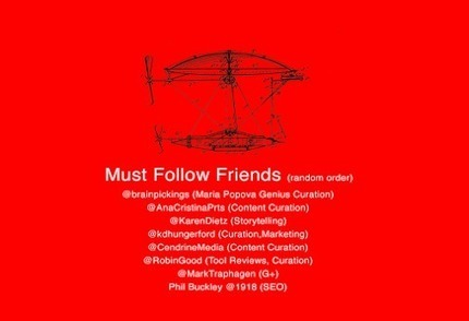Must Follow FOMs (Friends of Marty's) Added To Search For Blue Oceans | Curation Revolution | Scoop.it