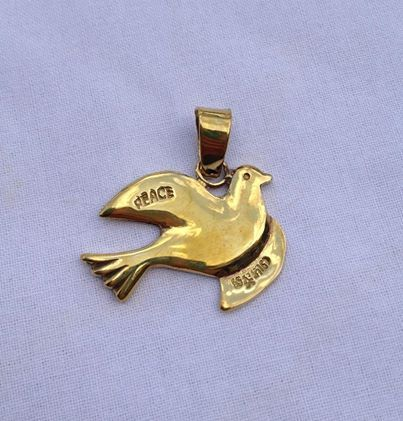fair trade Cambodia. Recycled brass bomb shell peace dove pendant, ethically handmade by disadvantaged home based workers. | Enviroment | Scoop.it