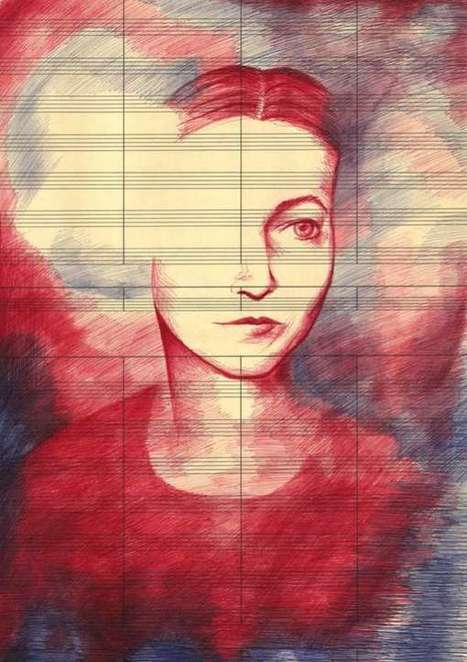 Emotional Ballpoint Illustrations | Arte y Fotografía | Scoop.it