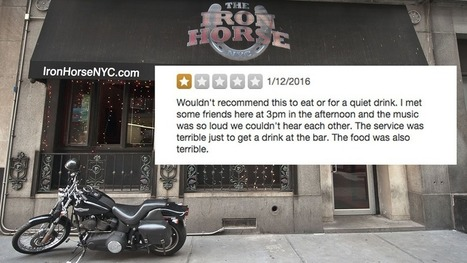 Dive bar delivers perfect response to Yelper's one-star review | East Coast Limousine Service | Scoop.it