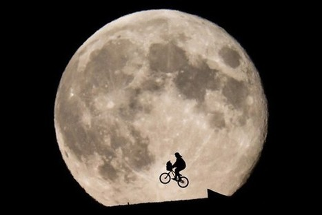 Astrophoto: Photographer Re-Creates E.T. Flying in Front of the Moon | The brain and illusions | Scoop.it
