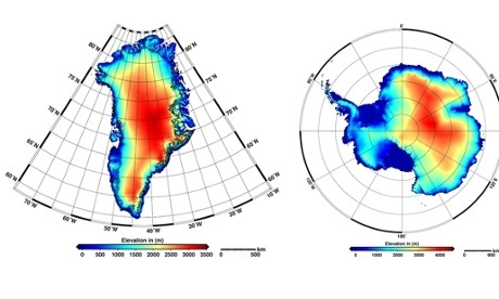 New satellite maps show polar ice caps melting at 'unprecedented rate' | LambC4 | Scoop.it