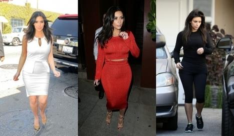 La semaine mode de Kim Kardashian | mode | Scoop.it