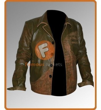 Replica Johnny Depp Green Distressed Leather Jacket Sale | Movie Jacket | Scoop.it