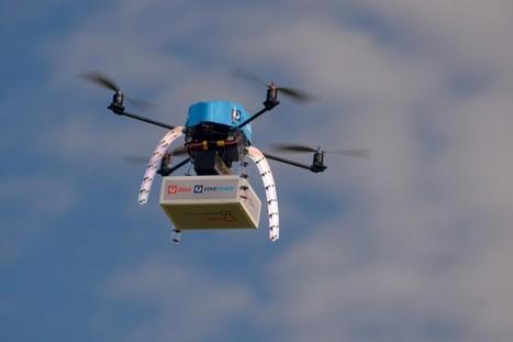 Aux Etats-Unis, les drones commerciaux veulent survoler les villes   Drone   Scoop.it