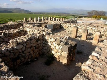 Hazor (BiblePlaces.com) | historical sites in israel and biblical sources | Scoop.it