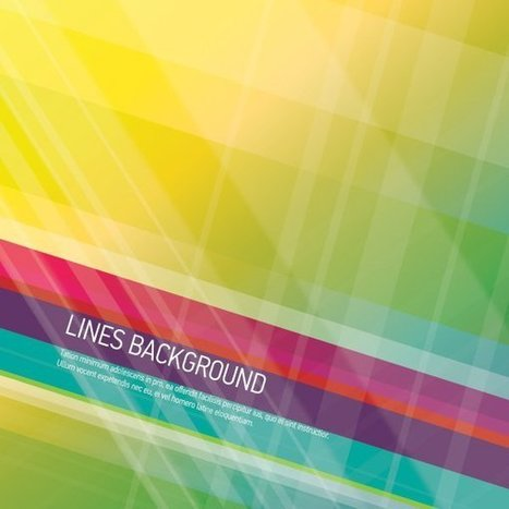 Lines Background Vector Graphic — abstract, colorful | Rapid eLearning | Scoop.it
