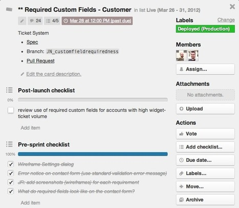 How we use Trello & Google Docs to make UserVoice better every day   UserCentered   Random Finds, Thoughts N Ideas   Scoop.it