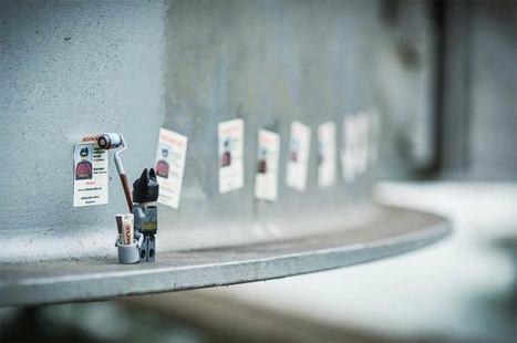 Quand un photographe s'amuse avec ses mini-figurines #lego #starwars #pacman #superheros | Street-art Design Grafititi et Gros minet | Scoop.it