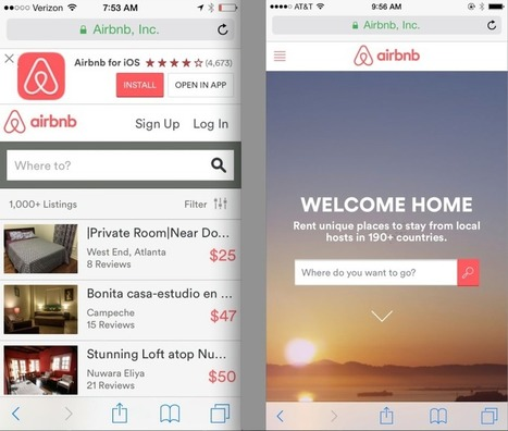 Here's the strategy behind Airbnb's mobile web redesign | Technological Sparks | Scoop.it